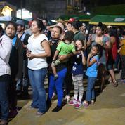 Un nouveau groupe de migrants honduriens parti pour les États-Unis arrive au Mexique