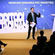 En Italie, Di Maio fait campagne sur le dos de la France