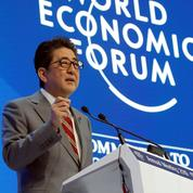 À Davos, la «société 5.0» selon Shinzo Abe, Angela Merkel et Wang Qishan
