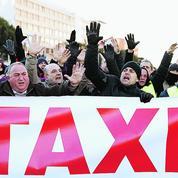 Le combat en gilet jaune des taxis espagnols contre Uber et autres VTC