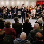 Défié par Wauquiez, Macron débat avec des «gilets jaunes» de la Drôme