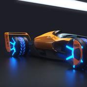 Monoplace, pilote, circuits... McLaren présente la Formule 1 du futur en 2050