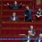 «Arrêtez de dire des conneries» : une députée LaREM se poste à côté de Corbière à l'Assemblée