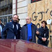 À Bordeaux, Édouard Philippe au chevet des commerçants victimes des «gilets jaunes»