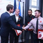 Attaque du Thalys : les trois héros américains ont obtenu la citoyenneté française