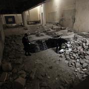 Recherche sites endommagés par la guerre