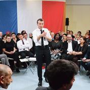 Emmanuel Macron, VRP de ses ministres