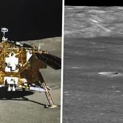 La Nasa a photographié la sonde chinoise sur la face cachée de la Lune