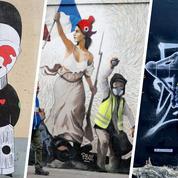 Comment l'art urbain s'empare des symboles des «gilets jaunes»