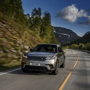 Sortie de route pour Jaguar Land Rover