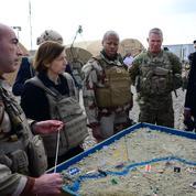 Avec les artilleurs français face au dernier bastion de Daech