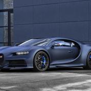 Bugatti Chiron Sport: couleur France