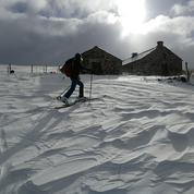 Auvergne: sports d'hiver dans le Cantal