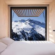 À Avoriaz, dormir dans un container sur une piste de ski