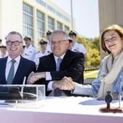 Sous-marins: Naval Group et l'Australie signent un partenariat stratégique