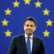 L'accueil glacial des eurodéputés à Giuseppe Conte