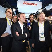 Macron à Las Vegas: Havas Paris mis en examen de «recel de favoritisme»