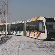 La Chine développe un tramway autonome... et sans rails