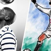 Karl Lagerfeld, photographe au service des Bleus et de leur maillot