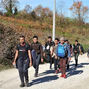 Izacic, porte d'entrée des migrants pour l'Europe