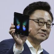 Samsung dévoile le premier smartphone pliable