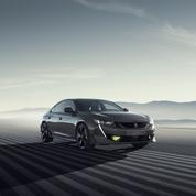 Peugeot 508 Concept Sport Engineered, la berline met les watts