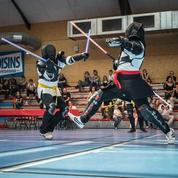 Le sabre laser des Jedi, la discipline française qui intéresse de plus en plus le monde
