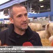 «On parle de gens qui nous nourrissent»: Guillaume Canet s'engage auprès des agriculteurs