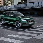 Audi SQ5 TDI, le diesel boosté par l'électricité