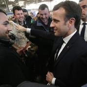 Macron au salon de l'agriculture: «L'homme qui a réponse à tout»