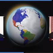 Venezuela: tour du monde des soutiens de Guaido et Maduro