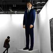 Une statue géante du roi d'Espagne Felipe VI vendue... à condition qu'elle soit détruite