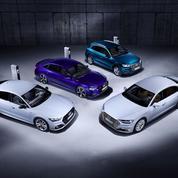 Audi lance une offensive dans l'hybride rechargeable