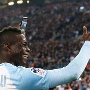 Balotelli réclame que la célébration de son but face à Saint-Etienne soit sur le jeu FIFA