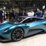 Aston Martin Vanquish Vision concept, une berlinette à moteur arrière