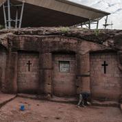 Emmanuel Macron au chevet de la «nouvelle Jérusalem» creusée dans la roche en Éthiopie