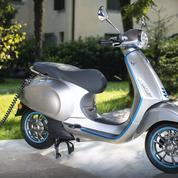 Vespa Elettrica, un scooter branché sur le secteur