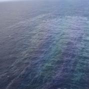 Marée noire, la pollution vue de l'espace