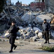 Gaza: Israël mène des dizaines de raids contre des bâtiments du Hamas
