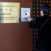Un groupe d'opposants à Pyongyang revendique l'attaque de l'ambassade nord-coréenne à Madrid