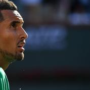 Roland-Garros: après son forfait, Kyrgios philosophe seul face à la mer