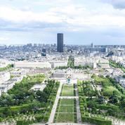 Roland-Garros: le grand frisson avec une tyrolienne géante sur la Tour Eiffel