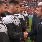 Avant la finale du Top 14, le Sud-Africain Maks Van Dyk a demandé la nationalité française à Emmanuel Macron