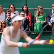 Wimbledon: Kate Middleton en visite surprise sur un court annexe