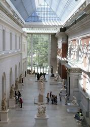 Une salle du Met.