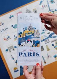 La carte City Guide de Paris de Julie Flamingo.