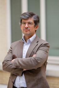 Portrait de l'écrivain et philosophe Fabrice Hadjadj.