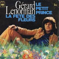 Couverture du 45 tours du «Petit Prince» de Gérard Lenorman.