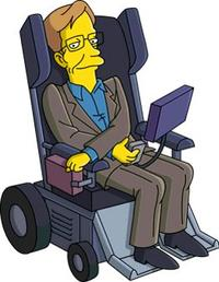 L'apparition de Stephen Hawking dans «Les Simpson».