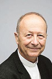 Mgr Michel Dubost, évêque d'Evry.